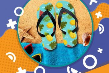 (Tiếng Việt) Flip flops – Dép tông đi biển đẹp mê liiiiiiiii